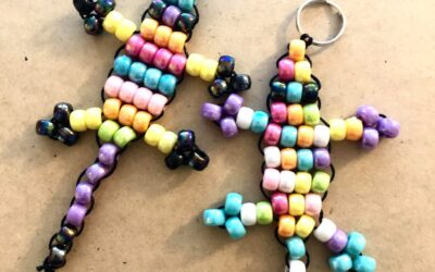 How To Make a Cute Lizard Bead Keyring