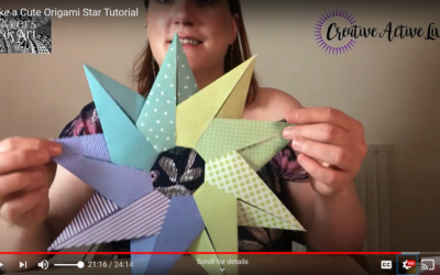 Make an Origami Star Decoration